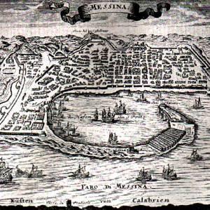 Messina, le mura di Carlo V