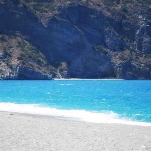 La spiaggia di Tindari